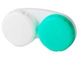 Kontaktlinsen online - Behälter grün-weiß