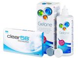 Kontaktlinsen online - Clear 58 (6Linsen)