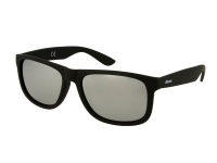Kontaktlinsen online - Sonnenbrille Alensa Sport Black Silver Mirror