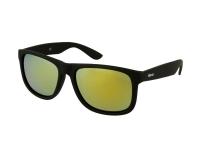 Kontaktlinsen online - Sonnenbrille Alensa Sport Black Gold Mirror
