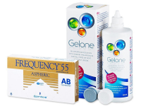 Frequency 55 Aspheric (6 Linsen) + Gelone 360ml