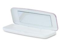 Kontaktlinsen online - Fester Behälter für Tageslinsen - rosa