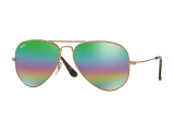 Kontaktlinsen online - Ray-Ban Aviator Mineral Flash Lenses RB3025 9018C3