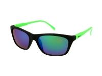 Kontaktlinsen online - Damen Sonnenbrille Alensa Sport Black Green Mirror