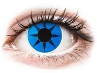 Kontaktlinsen online - ColourVUE Crazy Lens - Blue Star - ohne Stärke