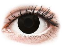 Kontaktlinsen online - ColourVUE Crazy Lens - BlackOut - mit Stärke