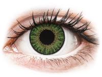 Kontaktlinsen online - TopVue Color Tageslinsen - Green - mit Stärke