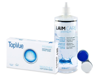 TopVue Monthly (6 Linsen) + Laim-Care 400 ml
