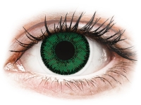 Kontaktlinsen online - SofLens Natural Colors Emerald - ohne Stärke