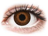 Kontaktlinsen online - Expressions Colors Brown - ohne Stärke
