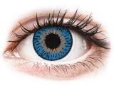 Kontaktlinsen online - Expressions Colors Dark Blue - ohne Stärke