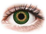 Kontaktlinsen online - Expressions Colors Green - ohne Stärke