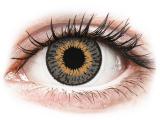 Kontaktlinsen online - Expressions Colors Grey - mit Stärke