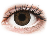Kontaktlinsen online - FreshLook ColorBlends Brown - mit Stärke