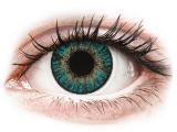 Kontaktlinsen online - FreshLook ColorBlends Turquoise - mit Stärke