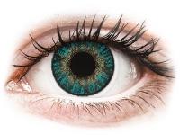 Kontaktlinsen online - FreshLook ColorBlends Turquoise - ohne Stärke