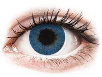 Kontaktlinsen online - FreshLook Dimensions Pacific Blue - ohne Stärke