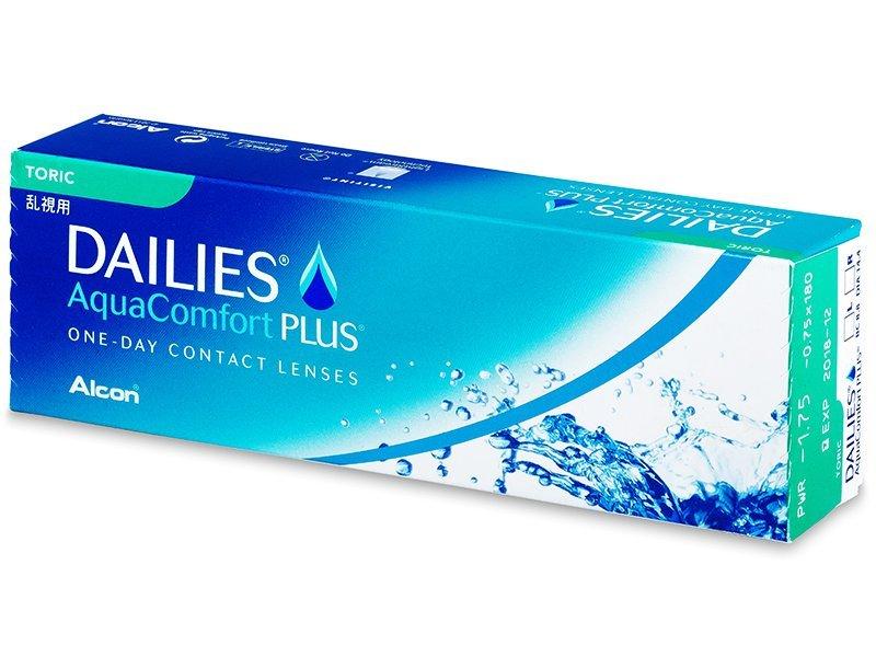 Dailies Aquacomfort Plus Toric 30 Torische Kontaktlinsen