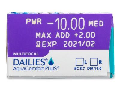 Dailies AquaComfort Plus Multifocal (30Linsen)