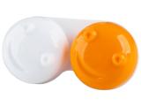 Kontaktlinsen online - Behälter 3D - orange