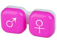 Kontaktlinsen online - Behälter man&woman - rosa
