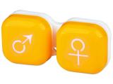 Kontaktlinsen online - Behälter man&woman - gelb