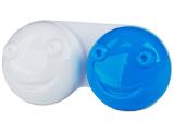 Kontaktlinsen online - Behälter 3D - blau