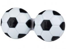 Behälter Fußball  - schwarz