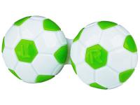 Kontaktlinsen online - Behälter Fußball - grün