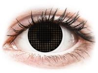 Kontaktlinsen online - ColourVUE Crazy Lens - Black Screen - ohne Stärke