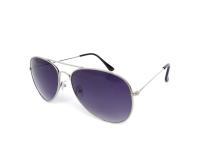 Kontaktlinsen online - Sonnenbrille Alensa Pilot Silver