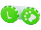 Kontaktlinsen online - Behälter Pfote grün