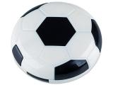 Kontaktlinsen online - Kontaktlinsen-Etui Fußball - schwarz