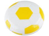 Kontaktlinsen online - Kontaktlinsen-Etui Fußball - gelb