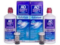 Kontaktlinsen online - AO SEPT PLUS HydraGlyde 2 x 360ml
