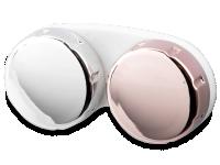 Kontaktlinsen online - Linsenbehälter mit Spiegeleffekt - pink