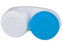 Kontaktlinsen online - Behälter blau-weiß L+R