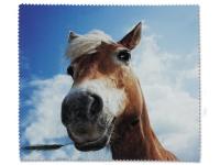 Kontaktlinsen online - Brillenputztuch - Pferd