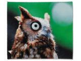 Kontaktlinsen online - Brillenputztuch - Eule