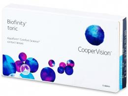 Biofinity Toric (3Linsen) - CooperVision