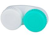 Kontaktlinsen online - Behälter grün-weiß mit L+R