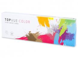 TopVue Color Tageslinsen - mit Stärke (10 Linsen) - TopVue