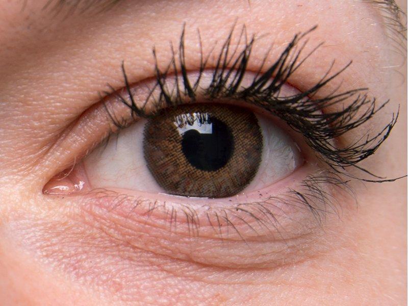 """""""Brown"""" bei einer grauen Augenfarbe"""
