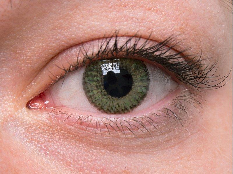 """""""Green"""" bei einer grauen Augenfarbe"""