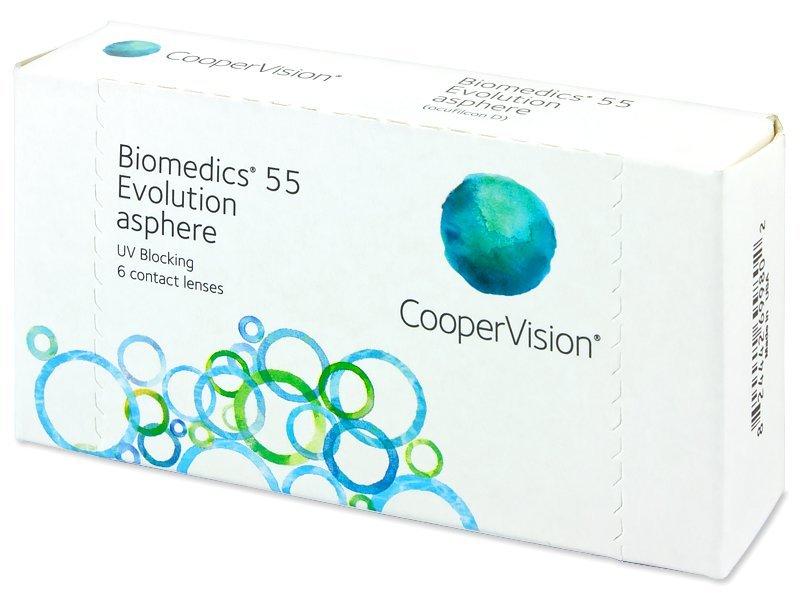 Biomedics 55 Evolution (6Linsen)