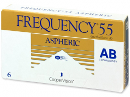 Frequency 55 Aspheric (6Linsen) - CooperVision
