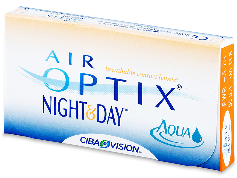 Air Optix Night and Day Aqua (6 Linsen)