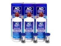 Kontaktlinsen online - AO SEPT PLUS HydraGlyde 3 x 360ml